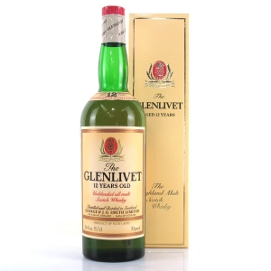 Glenlivet 12 Year Old 1970s