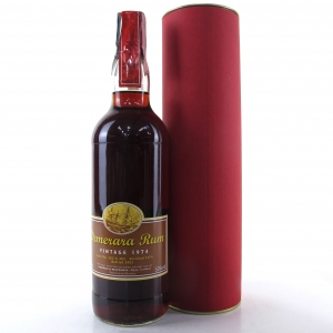 Demerara 1974 Gordon and MacPhail Guyana Rum / Meregalli Import