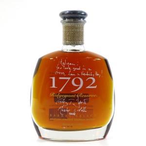 1792 Ridgemont Reserve 8 Year Old Kentucky Bourbon / Signed