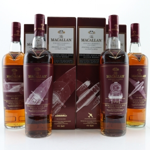 Macallan Whisky Makers Edition Classic Travel Range Nick Veasey 4 x 70cl