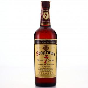 Seagram's Seven Crown American Whiskey 1972