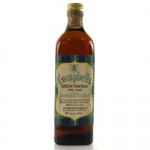 Campbells Green Tartan Scotch 1960s