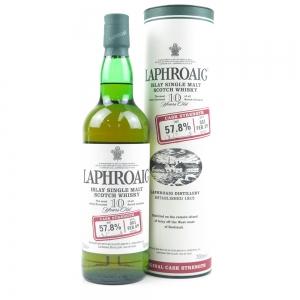 Laphroaig 10 Year Old Cask Strength Batch #001