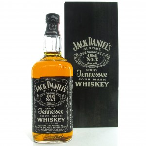 Jack Daniel's Old No.7 1980s / Wooden Box