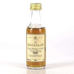 Macallan 18 Year Old 1966 Miniature 5cl