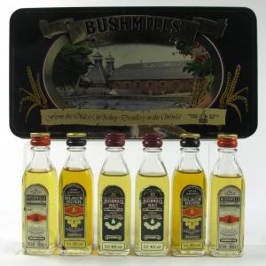 Bushmills Miniature Gift Pack 6 x 5cl