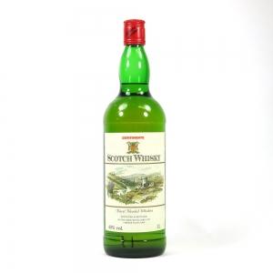 Continente Scotch Whisky 1 Litre Front