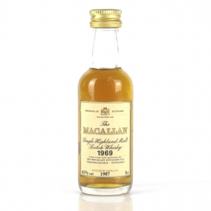 Macallan 18 Year Old 1969 Miniature 5cl