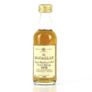 Macallan 18 Year Old 1970 Miniature 5cl