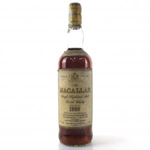 Macallan 18 Year Old 1980 / Giovinetti Import