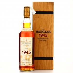 Macallan 1945 Fine and Rare 56 Year Old
