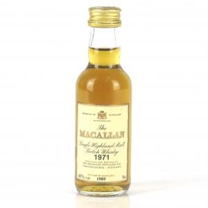 Macallan 18 Year Old 1971 Miniature 5cl