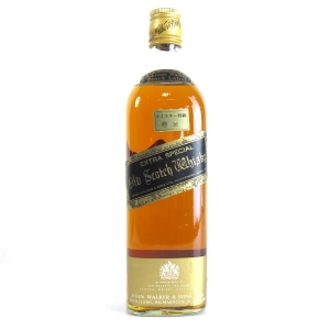 Johnnie Walker Black Label 1970s / Japanese Import