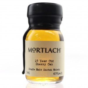 Mortlach 25 Year Old Miniature 3cl
