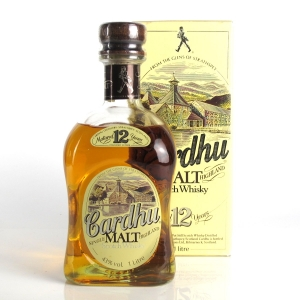 Cardhu 12 Year Old 1 Litre 1980s