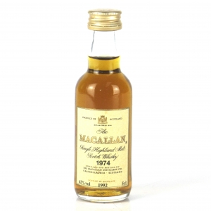 Macallan 18 Year Old 1974 Miniature 5cl