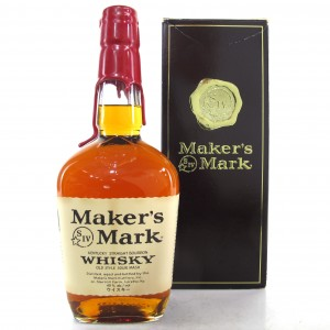 Maker's Mark Kentucky Straight Bourbon / Japanese Import