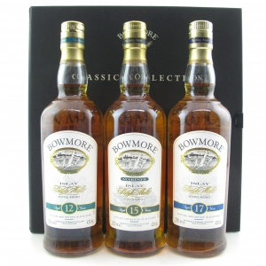 Bowmore Classic Collection 3 x 20cl / 12, 15, 17 Year Old