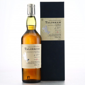 Talisker 25 Year Old 2004 Release