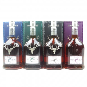 Dalmore River Series 2011 Release / Dee, Spey, Tay and Tweed Drams 4 x 70cl