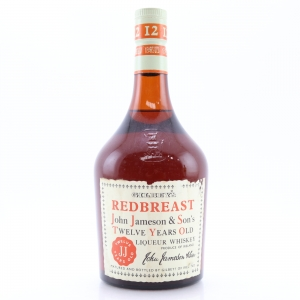 John Jameson and Son's Redbreast 12 Year Old 1968 / Gilbey's