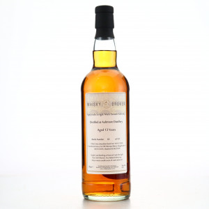 Aultmore 2006 Whisky Broker 13 Year Old