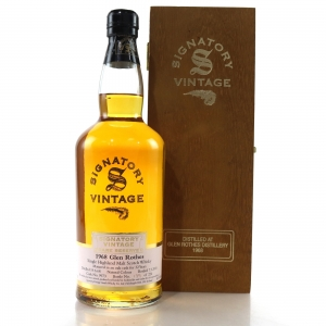 Glenrothes 1968 Signatory Vintage 32 Year Old Rare Reserve