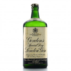 Gordon's Special Dry London Gin 1950s