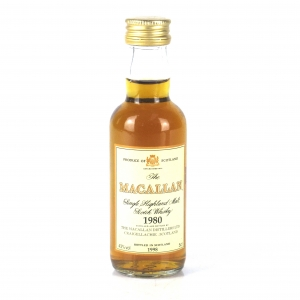 Macallan 18 Year Old 1980 Miniature 5cl