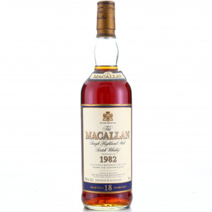 Macallan 1982 18 Year Old 75cl / US Import