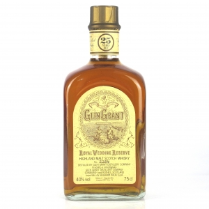 Glen Grant 25 Year Old Royal Wedding Reserve / Seagram Italia Import
