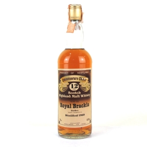 Royal Brackla 1969 Gordon and MacPhail 12 Year Old 1980s / Rossi