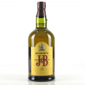 J&B 15 Year Old / Portuguese Import