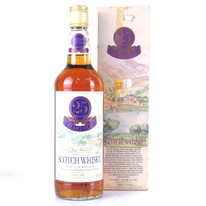 Whyte and Mackay Pre-1962 25 Year Old