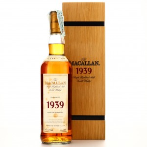 Macallan 1939 Fine and Rare 40 Year Old