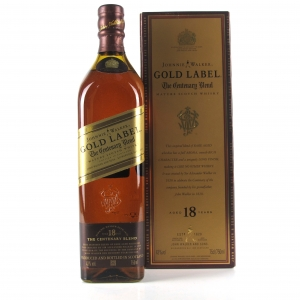 Johnnie Walker Gold Label 18 Year Old 75cl / Centenary Blend