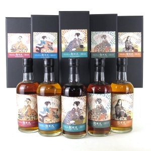 Karuizawa 1999/2000 Geisha Single Casks #6258 / #671 / #512 / #7497 / #2577 5 x 70cl