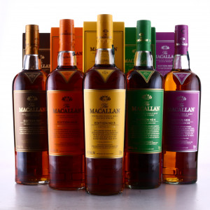 Macallan Edition No.1-5 Collection 5 x 75cl / US Imports