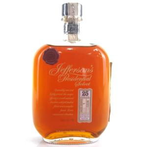 Jefferson's Presidential Select 25 Year Old