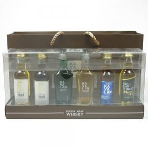 Kavalan Miniature Gift Pack 6 x 5cl