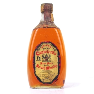 Crawford's Five Star 12 Year Old 1980s / Ferraretto Import