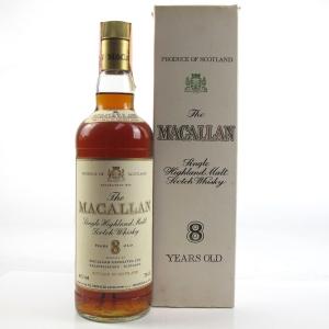 Macallan 8 Year Old 1980s
