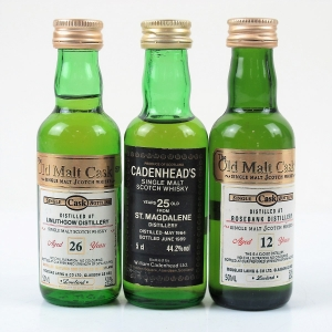Closed Lowland Miniature Selection 3 x 5cl