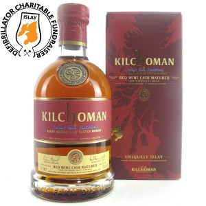 Kilchoman 2012 Red Wine Cask Matured - Islay Defibrillator Challenge
