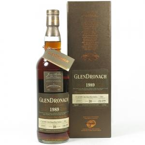 Glendronach 1989 Single Cask 20 Year Old