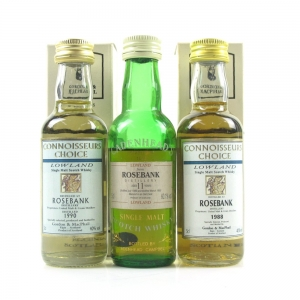 Rosebank Miniature Selection 3 x 5cl