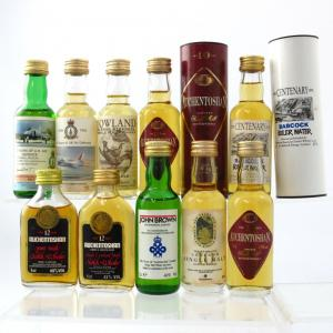 Auchentoshan Miniature Selection 10 x 5cl