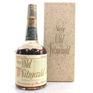 Very Old Fitzgerald 1960 Bonded 8 Year Old Half Pint / Stitzel-Weller