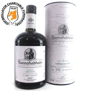 Bunnahabhain 1997 American Oak 19 Year Old / Feis Ile 2017 - Islay Defibrillator Challenge