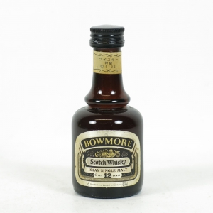 Bowmore 12 Year Old 1980s 5cl Miniature Front